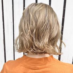 デート オフィス ナチュラル ボブ ヘアスタイルや髪型の写真・画像