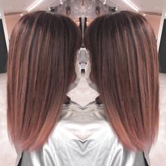 ピンクベージュ ナチュラルベージュ 外国人風 ストリート ヘアスタイルや髪型の写真・画像