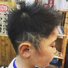 メンズ ショート ストリート 子供 ヘアスタイルや髪型の写真・画像