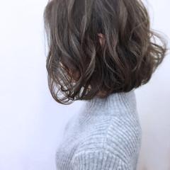 外国人風 ゆるふわ ニュアンス パーマ ヘアスタイルや髪型の写真・画像