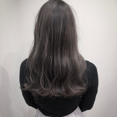 モード ロング ヘアスタイルや髪型の写真・画像