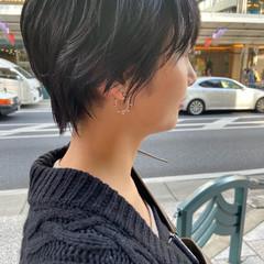 大人ヘアスタイル ショートボブ ナチュラル ショート ヘアスタイルや髪型の写真・画像