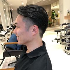 ナチュラル ショート メンズヘア メンズカジュアル ヘアスタイルや髪型の写真・画像
