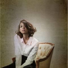 パーマ ラフ ミディアム 外国人風 ヘアスタイルや髪型の写真・画像