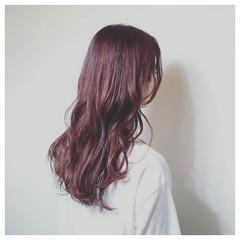 ナチュラル くせ毛風 ロング 秋 ヘアスタイルや髪型の写真・画像