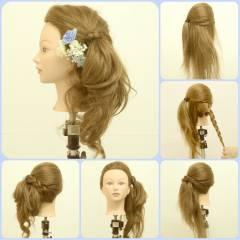外国人風 モテ髪 愛され ヘアアレンジ ヘアスタイルや髪型の写真・画像