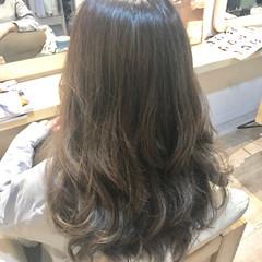 メッシュ 上品 エレガント ロング ヘアスタイルや髪型の写真・画像