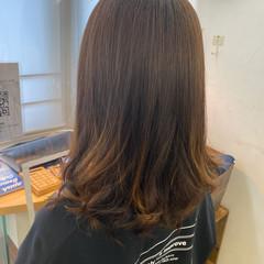 髪質改善トリートメント ナチュラル ワンカールパーマ コテ巻き風パーマ ヘアスタイルや髪型の写真・画像