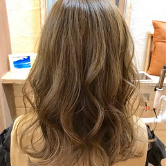 セミロング 春 デート 夏 ヘアスタイルや髪型の写真・画像