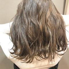 コンサバ 夏 ミディアム アンニュイ ヘアスタイルや髪型の写真・画像