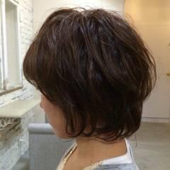 秋 グラデーションカラー 卵型 モテ髪 ヘアスタイルや髪型の写真・画像