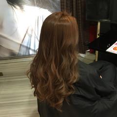 ロング ベージュ 渋谷系 外国人風 ヘアスタイルや髪型の写真・画像