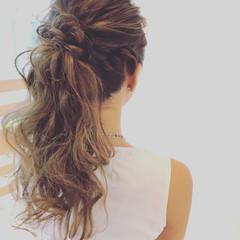 ロング エレガント 結婚式 上品 ヘアスタイルや髪型の写真・画像