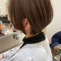 ショートヘア ナチュラル ショート ベージュ ヘアスタイルや髪型の写真・画像