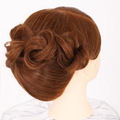 和服 和装 セミロング ヘアアレンジ ヘアスタイルや髪型の写真・画像
