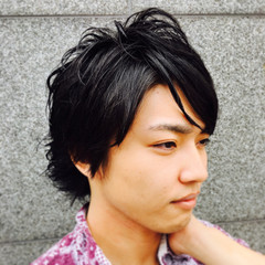 外国人風 爽やか 外ハネ ショート ヘアスタイルや髪型の写真・画像