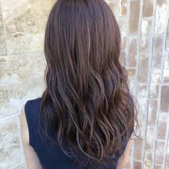 外国人風 ロング イルミナカラー 夏 ヘアスタイルや髪型の写真・画像