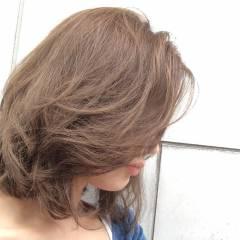 ブルーアッシュ 外国人風 ナチュラル アッシュ ヘアスタイルや髪型の写真・画像