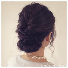 ヘアアレンジ 暗髪 ショート 簡単ヘアアレンジ ヘアスタイルや髪型の写真・画像