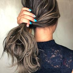 大人ハイライト ナチュラル 3Dハイライト 外国人風 ヘアスタイルや髪型の写真・画像