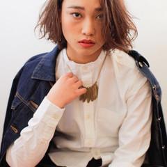 外国人風 ハイライト ストリート 大人かわいい ヘアスタイルや髪型の写真・画像