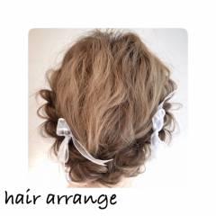 アップスタイル ヘアアレンジ ストリート ロング ヘアスタイルや髪型の写真・画像