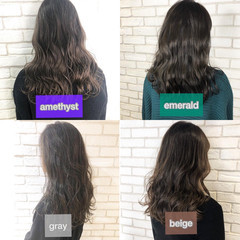 アディクシーカラー 切りっぱなしボブ コンサバ ミニボブ ヘアスタイルや髪型の写真・画像