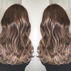外国人風カラー 簡単ヘアアレンジ アンニュイほつれヘア ミディアム ヘアスタイルや髪型の写真・画像