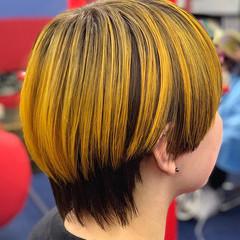 ストリート ショートヘア ショート マッシュショート ヘアスタイルや髪型の写真・画像