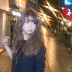 大人かわいい フェミニン ロング ストレート ヘアスタイルや髪型の写真・画像