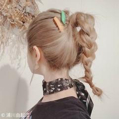 ハイライト フェミニン デート グラデーションカラー ヘアスタイルや髪型の写真・画像