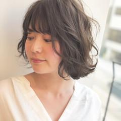 外国人風カラー 簡単ヘアアレンジ ゆるふわ アッシュ ヘアスタイルや髪型の写真・画像