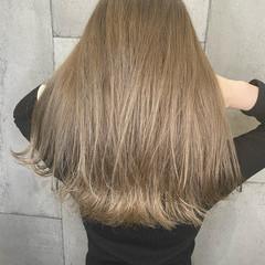 ハイトーンカラー ストリート ブリーチカラー ロング ヘアスタイルや髪型の写真・画像