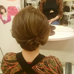 和装 ヘアアレンジ お祭り 和服 ヘアスタイルや髪型の写真・画像