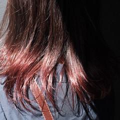 ナチュラル ナチュラルグラデーション セミロング グラデーション ヘアスタイルや髪型の写真・画像
