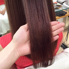 うる艶カラー 圧倒的透明感 ロング エレガント ヘアスタイルや髪型の写真・画像