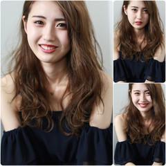 色気 外国人風 ハイライト デート ヘアスタイルや髪型の写真・画像
