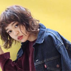 色気 ストリート 外国人風 暗髪 ヘアスタイルや髪型の写真・画像