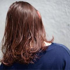ハイライト レッド ストリート インナーカラー ヘアスタイルや髪型の写真・画像