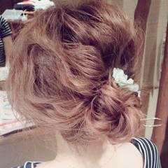 春 大人かわいい モテ髪 ヘアアレンジ ヘアスタイルや髪型の写真・画像