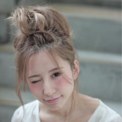 夏 ヘアアレンジ ピュア 外国人風 ヘアスタイルや髪型の写真・画像