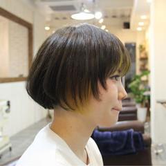 ダブルカラー インナーカラー イエロー ストリート ヘアスタイルや髪型の写真・画像