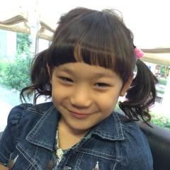 ヘアアレンジ 子供 かわいい コンサバ ヘアスタイルや髪型の写真・画像
