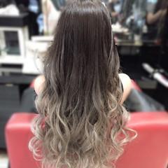 ストリート アッシュ ホワイト 渋谷系 ヘアスタイルや髪型の写真・画像