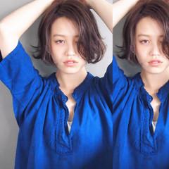 暗髪 外国人風 大人かわいい ゆるふわ ヘアスタイルや髪型の写真・画像