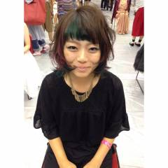 大人かわいい 外国人風 黒髪 卵型 ヘアスタイルや髪型の写真・画像