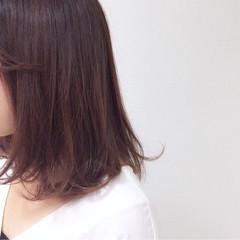簡単 ミディアム ナチュラル 色気 ヘアスタイルや髪型の写真・画像