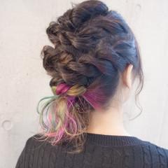 ストリート ゆるふわ 簡単ヘアアレンジ 外国人風 ヘアスタイルや髪型の写真・画像