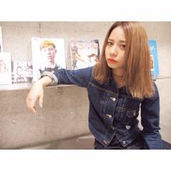 ブリーチ ハイトーン 外国人風カラー ストリート ヘアスタイルや髪型の写真・画像