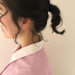 ヘアアレンジ 結婚式 フェミニン オフィス ヘアスタイルや髪型の写真・画像